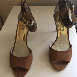 MK Open Toe Heels Women's Size 10