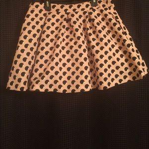 Skater Style Skirt; Brand:F21 Size: 30; Worn 2