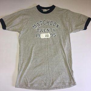 Vintage Matchbox 20 Ringer Teeshirt