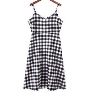 Dresses & Skirts - Gingham Sleeveless Dress