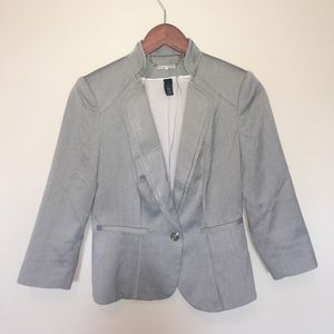 WHBM 2 piece suit jacket (0) & skirt (00)
