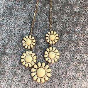 Kate Spade Enameled Flower Necklace