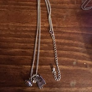 State of Alabama Football charm necklace