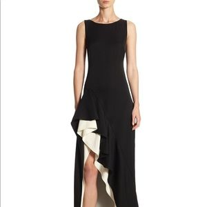 Halston Heritage skirt gown