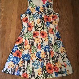 Catherine Malandrino floral pattern dress
