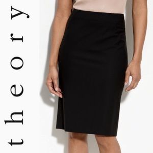 Theory Golda Tailor Pencil Skirt