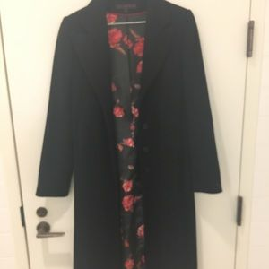 Via Spiga Dress Coat