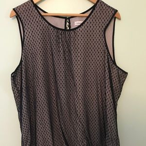 Coldwater Creek sleeveless blouse. 2X
