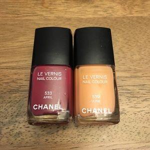 Chanel Nail Polish Set