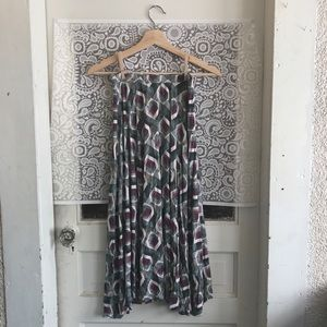 Caslon Skirts - Patterned Maxi Skirt