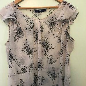 Eloquii flutter sleeve sheer blouse - 20W