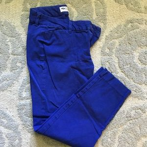 Royal blue Old Navy size 8 pixie pant