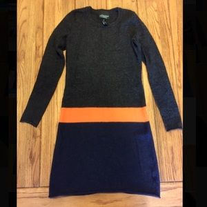 Used Cynthia Rowley Merino wool sweater dress