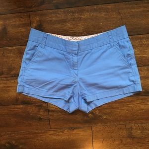 J. Crew Powder Blue Chino Shorts