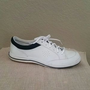 Keds white leather casual sneakers size 8.5