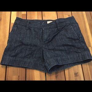 Gap denim shorts, size 2