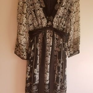 Boho ABS Allen Schwartz Kimono Dress