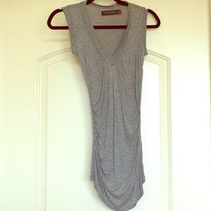 Zara sleeveless v-neck top in size S.