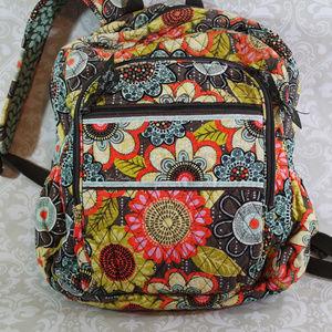 Vera Bradley Backpack Flower Shower