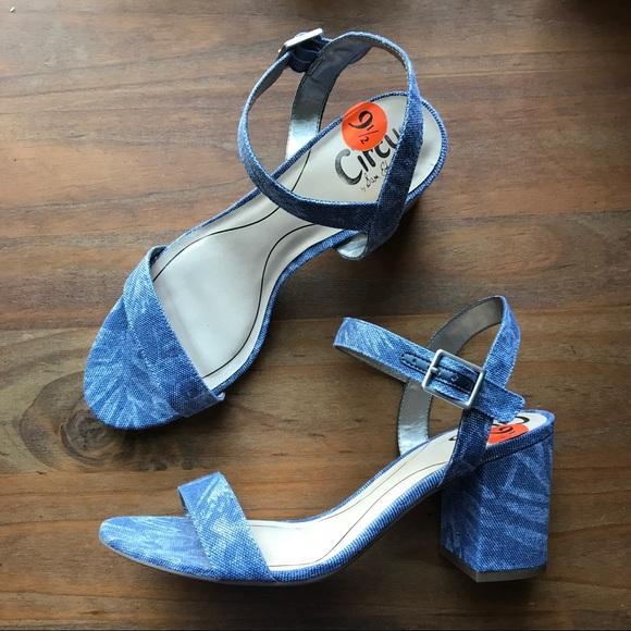 378c2a403 Circus Sam Edelman Ashton block heel sandal blue