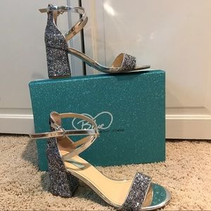 Blue by Betsey Johnson Sparkle Heel