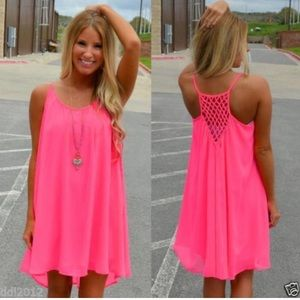 Dresses & Skirts - Women's Summer Casual Sleeveless Short Mini Dress