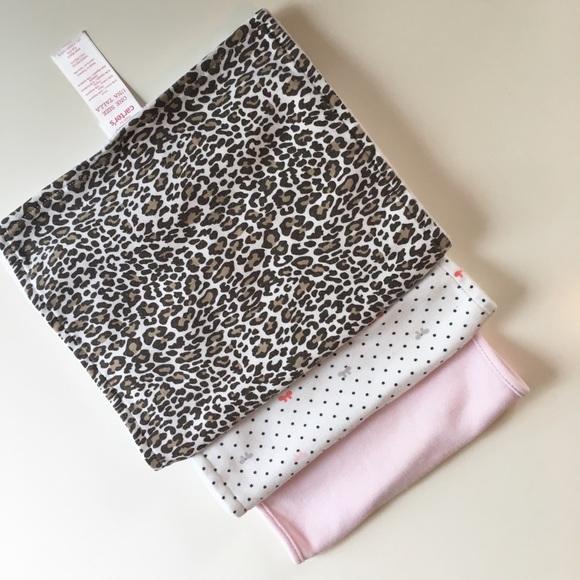 4c63ba998 Carter's Accessories | 3 Burp Cloths Baby Girls | Poshmark