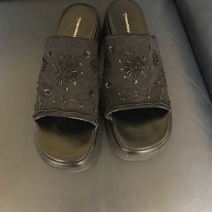 Shoes - Beaded slip ons