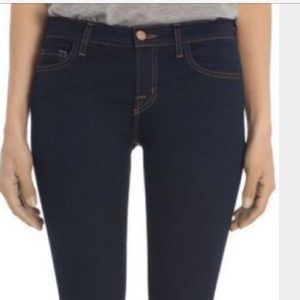 JBrand Cropped Rail Skinny Jeans in Ink sz29