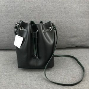 BRAND NEW!!! URBAN OUTFITTERS BLACK BUCKET BAG