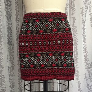 Urban Outfitters Body Con Sweater Knit Mini Skirt