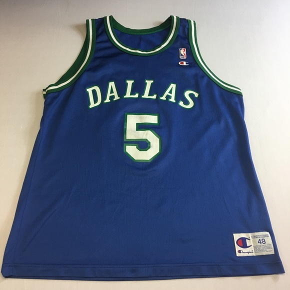 ed4dcee7d56 Champion Shirts | Vintage Dallas Mavericks Jason Kidd Jersey | Poshmark