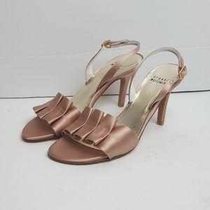 Stuart Weitzman LouLou Bridal Shoes Heels 6.5M