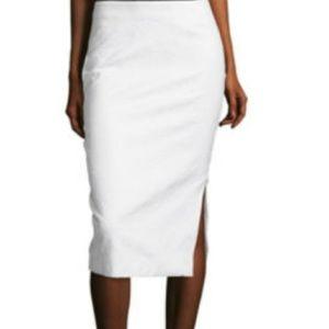 Worthington White Pencil Skirt