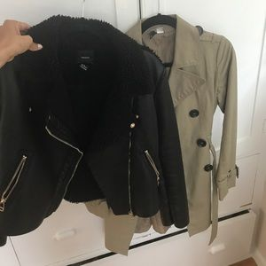 Bundle of two fall jackets