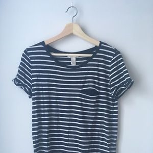 H&M Basic Stripe Tee