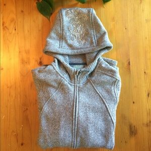 Athleta Sweater with Hoodie