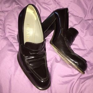 "PRADA WOMENS 4"" heel SHOES"