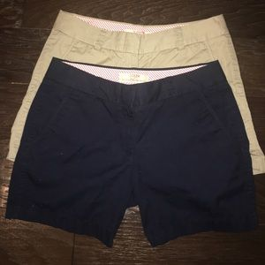 J. Crew ladies shorts size 0. 5 inch inseam.