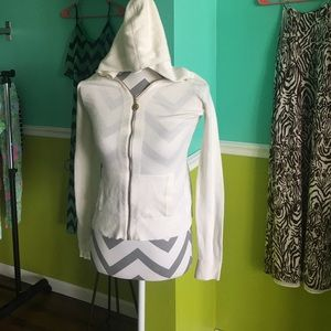 Lilly Pulitzer Hooded Zip-Up Sweater