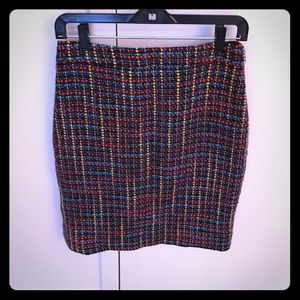 Kate spade size 4 multicolored skirt