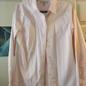Banana Republic size 12 baby pink button-down