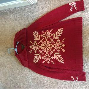 Eddie Bauer Snowflake sweater