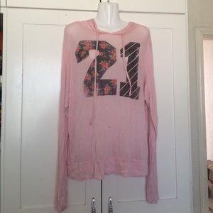 URBAN OUTFITTERS Iris & Navy Sweatshirt