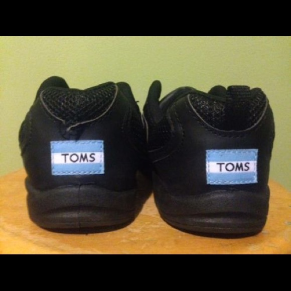 Black Toms Sneakers Prototype Size