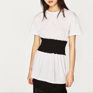 Zara Shirt with Waist Detail