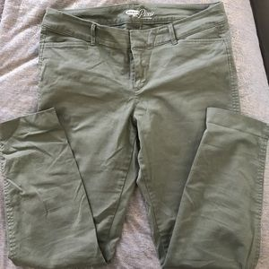 Light Olive colored khakis