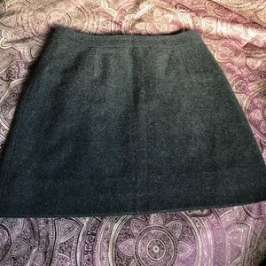 EUC Wool Skirt Charcoal in Color