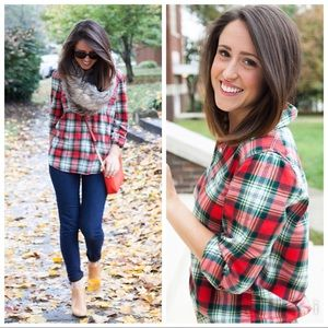 J. Crew factory Plaid shirt in flannel - XL