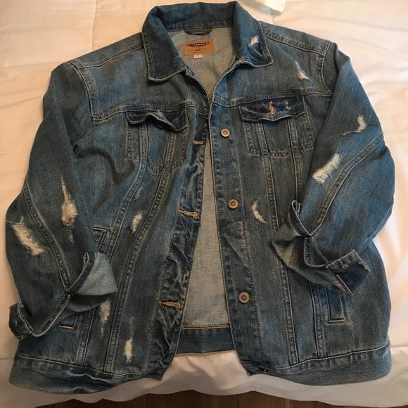 hollister jean jacket